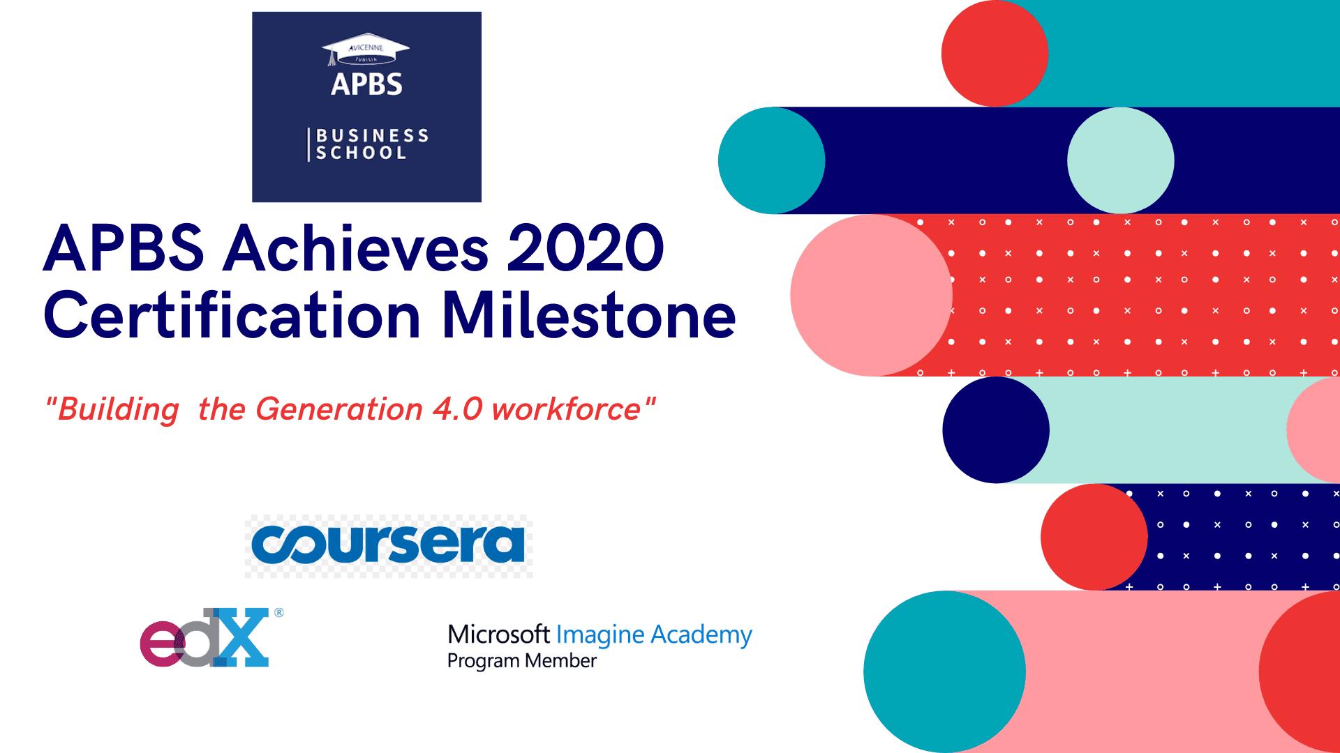APBS Achieves 2020 Certification Milestone APBS Tunisie Groupe scolaire Descartes APBS Achieves 2020 Certification Milestone culture apbs